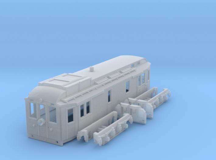DSB MT 104 N scale 3d printed