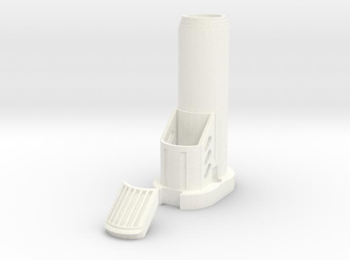 Nerf Star Lord Quad Blaster Bottom Barrel 3d printed