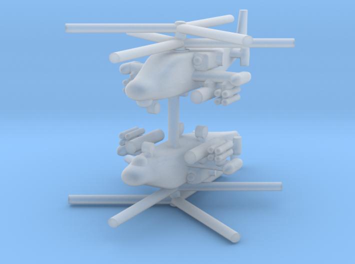 1/700 Ka-52 Alligator (x2) 3d printed