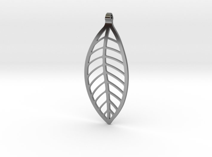 LEAF Necklace 3d printed