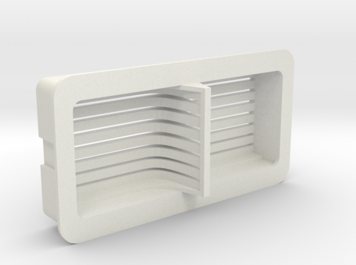 Cloud Car Engine Grill 3d printed