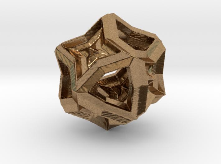 Polyhedron 1 3d printed