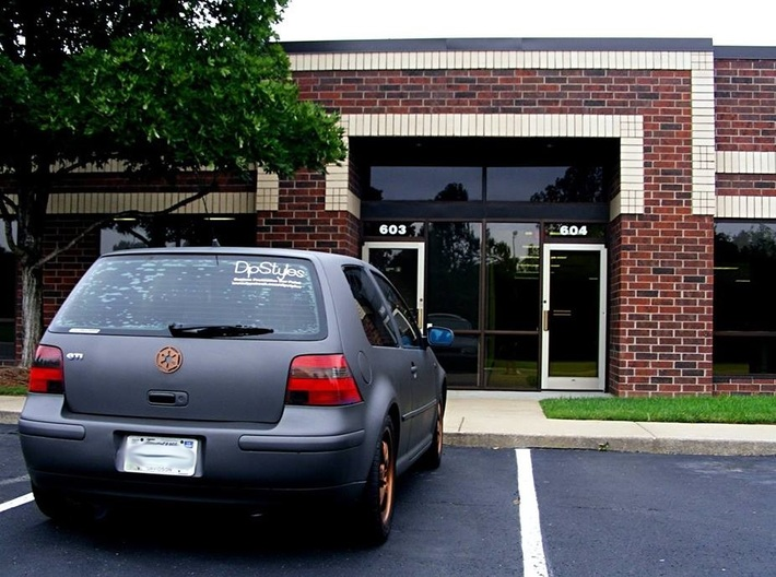 MK4 Volkswagen Golf Galactic Empire Rear Emblem 3d printed