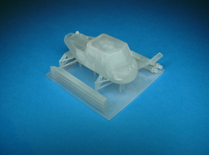 Westland Wasp Helicopter Kit 1/72 3d printed