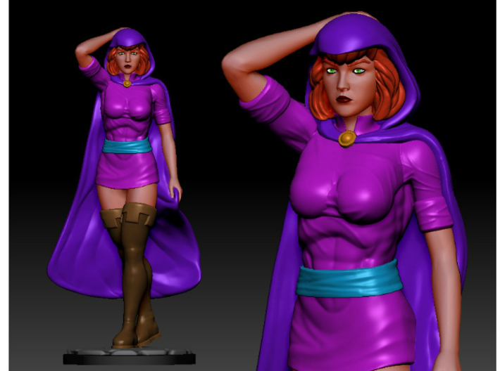 Sheila of D&D 6inch Statue 3d printed Digital Render of Sheila the Thief