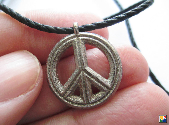 Peace 3d printed