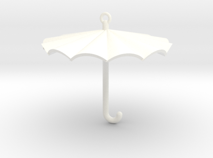 Umbrella Charm 3d printed