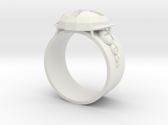Working Ring 3d printed