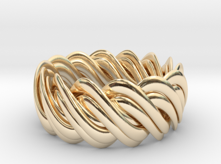 An Homage to Pi, The Ring 3d printed