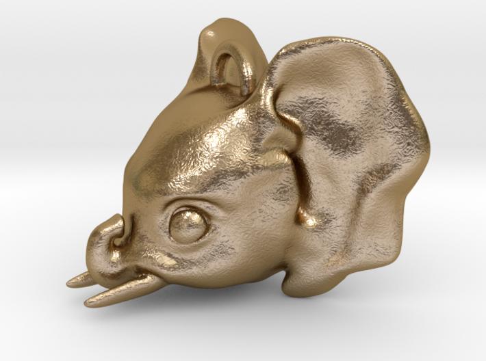 Baby Elephant Pendant 3d printed
