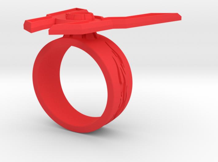 GG Rage Ring Sz 10 3d printed