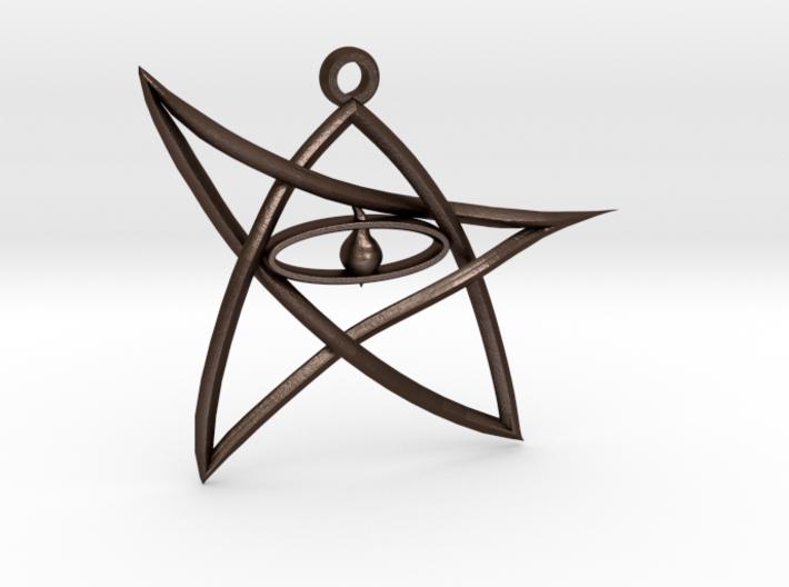 ElderSign Pendant 3d printed