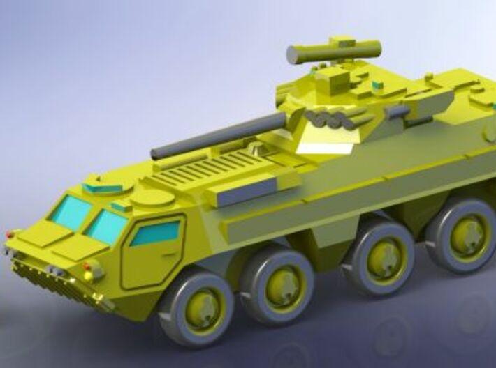 Ukranian APC BTR-4 Recon 1/285 6mm 3d printed Add a caption...
