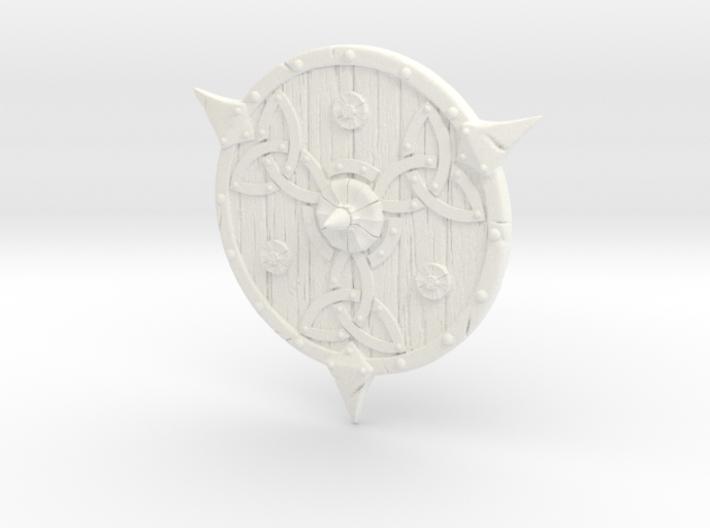 Shield-08-Targe-Celtic 6-7inch  MOTU  3d printed