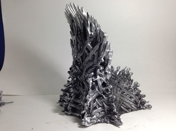 Forbidden Throne phone charging docking station  3d printed 3d Model has been Handpainted