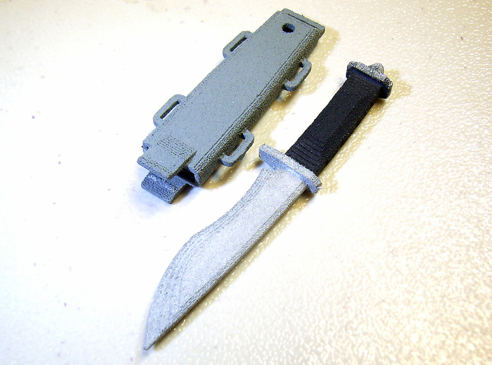1/6 scale knife inspired by Spriggan x2 3d printed Add a caption...