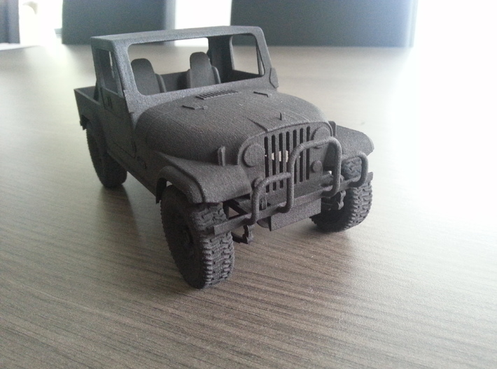 Jeep CJ8 Scrambler 3d printed