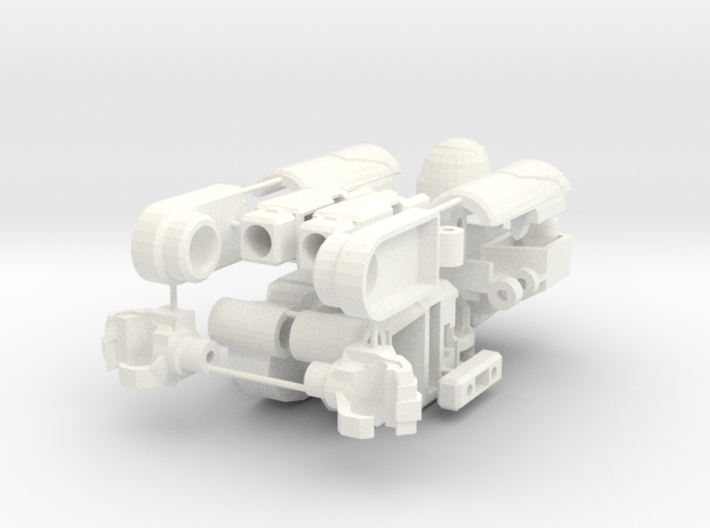 """MtMtE"" Strong Stumpy Robot Parts 3d printed"