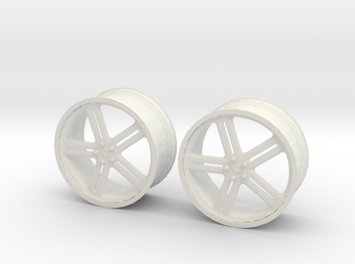 17 Inch Wheel 3d printed