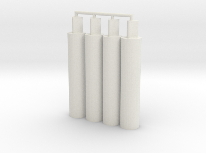 4x Thick Pegs 2.0 3d printed