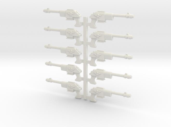 Lasguns or Autoguns 28mm scale 3d printed