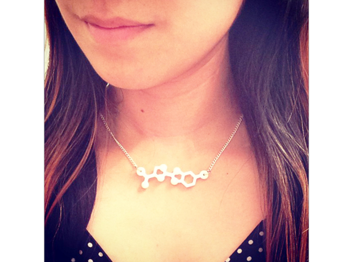 Luciferin Necklace 3d printed