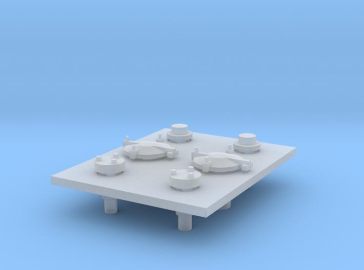 Domdeckel für Roco H0 Kesselwagen - Version 2 3d printed