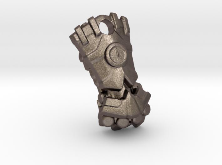 Power Fist Pendant 3d printed