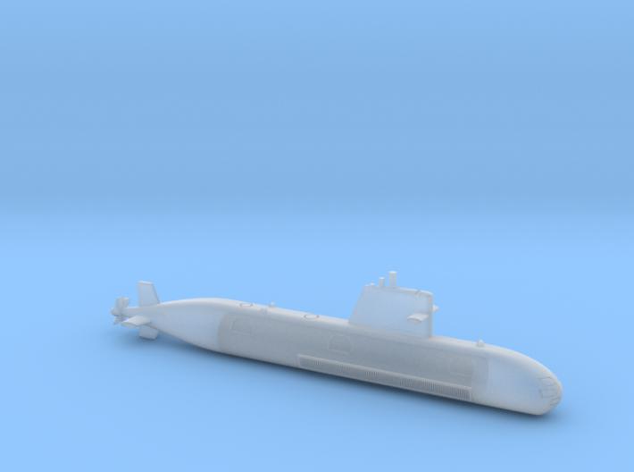 1/700 Scorpene-class submarine 3d printed