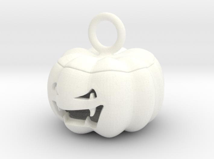 jack o'lantern pendant 3d printed