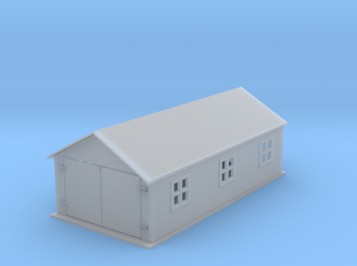 Country Work Shed Z Scale 3d printed Work Shed Z scale