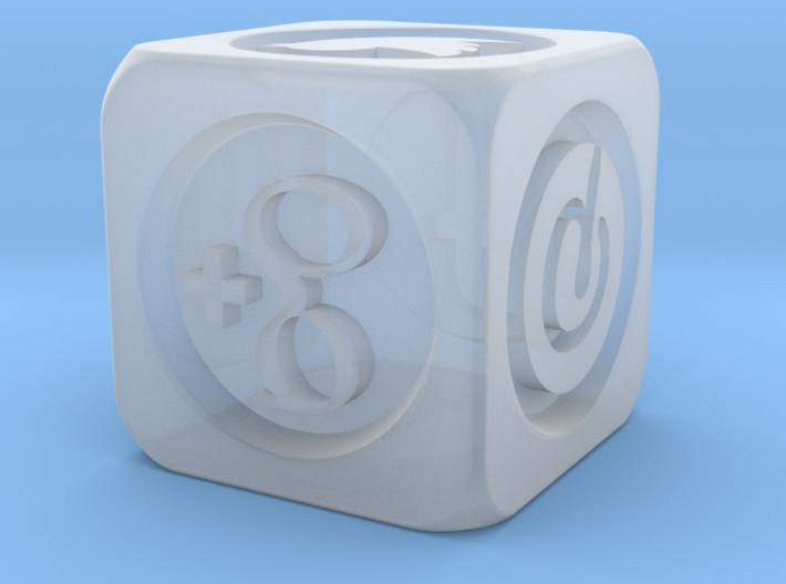 DiceNew 3d printed