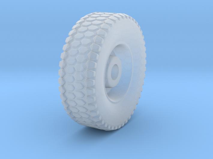 HO 1/87 MTVR Wheel 3d printed