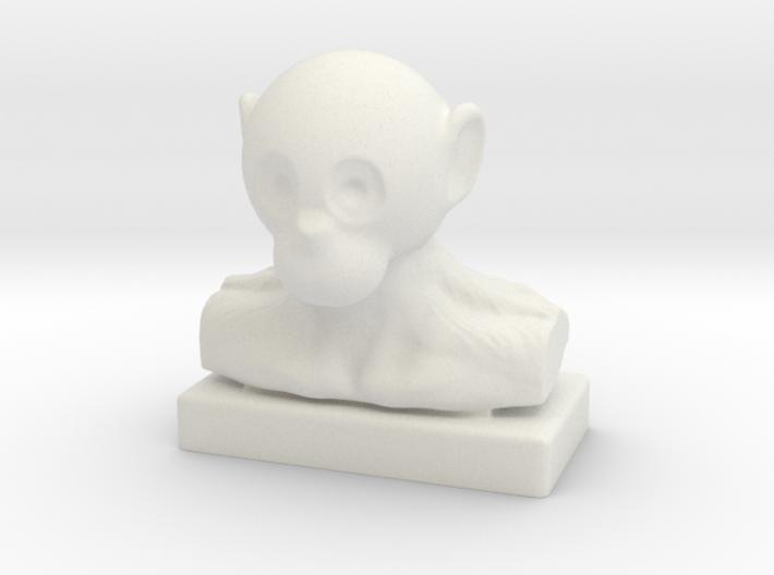 Monkey Bust 3d printed