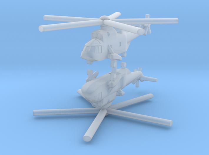1/700 Sikorsky / Westland Sea King (x2) 3d printed