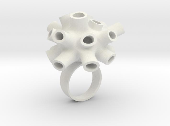 Tubey Ring  3d printed