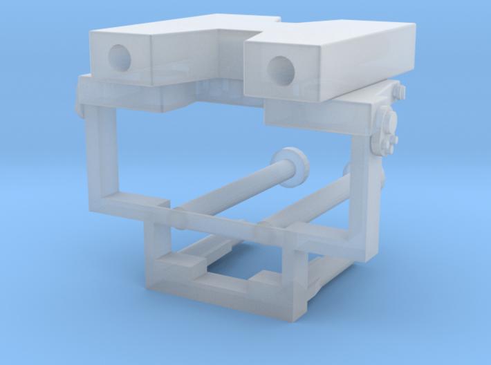 Frontabstützung für LKW-Ladekrane 3d printed