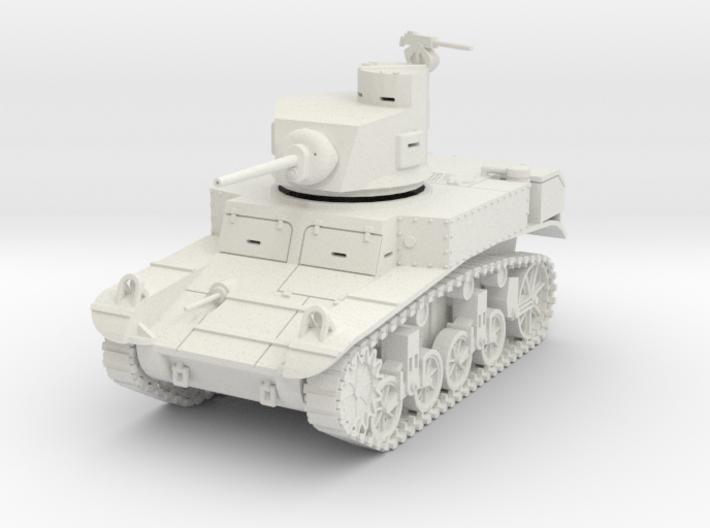 PV28A M3 Stuart w/horseshoe turret (28mm) 3d printed