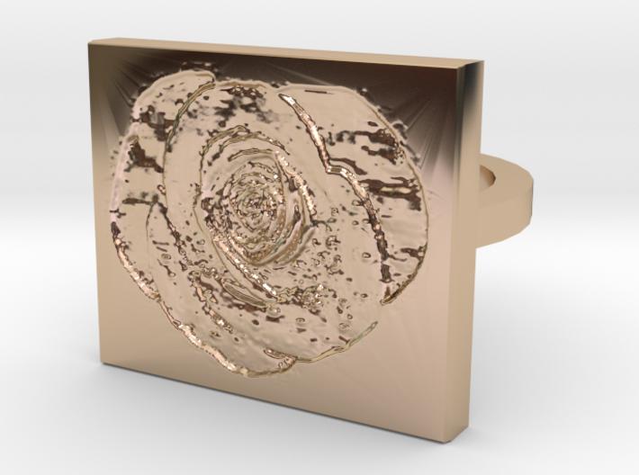 Rose Ring 2 3d printed