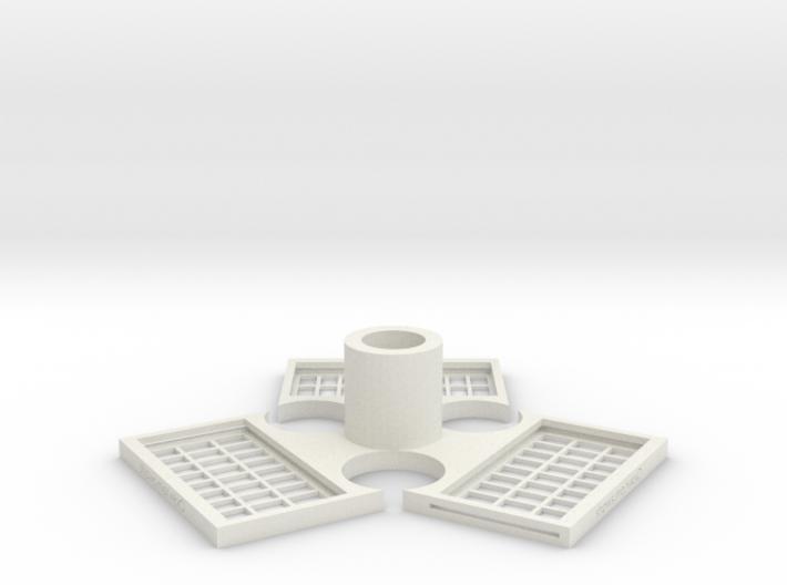 TriMagnetBase V2.0 3d printed
