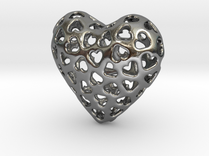 Small hearts, Big love (from $15) 3d printed