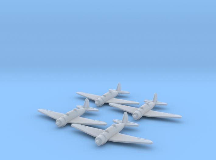1/700 Su-2 x4 (FUD) 3d printed