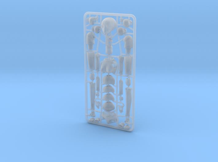 1/20 scale ALPHA EGO BJD kit, Female V01 3d printed
