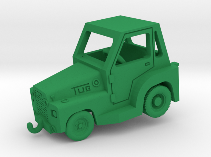 1/144 TUG MR Aircraft Tow Tractor (finished) 3d printed