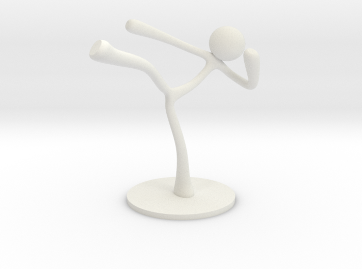 MTI Stickman-poses02 3d printed