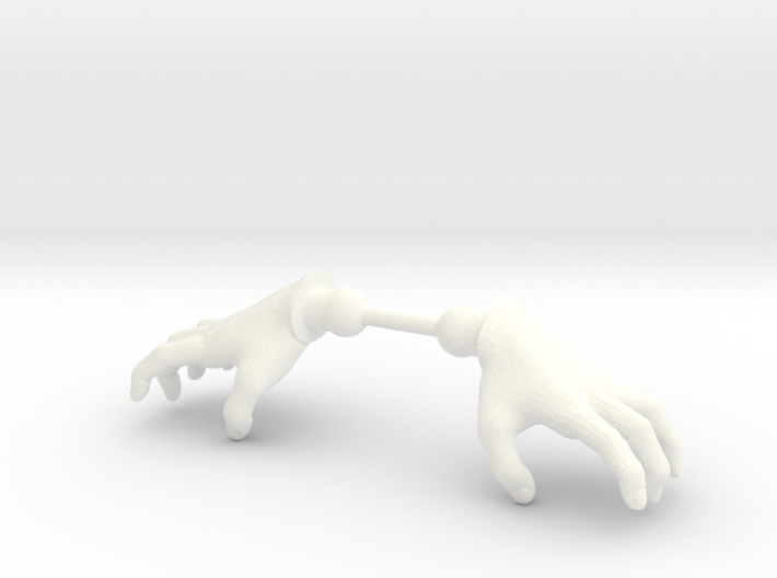 Warrior Hands Claw 3d printed