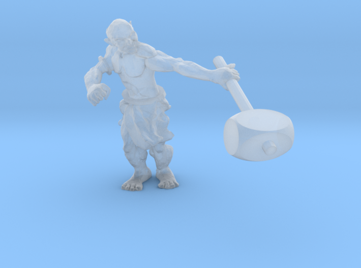 31mm Orc Miniature 3d printed