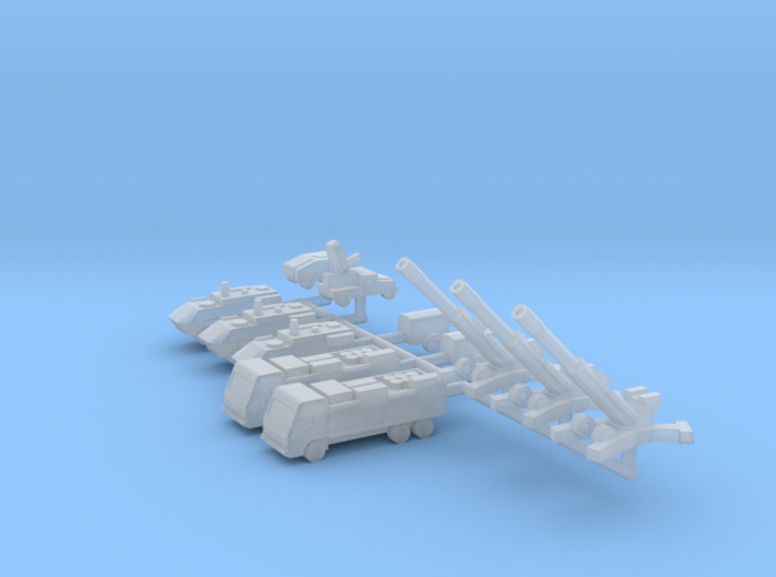 1/700 155mm M777 Gun Section 3d printed
