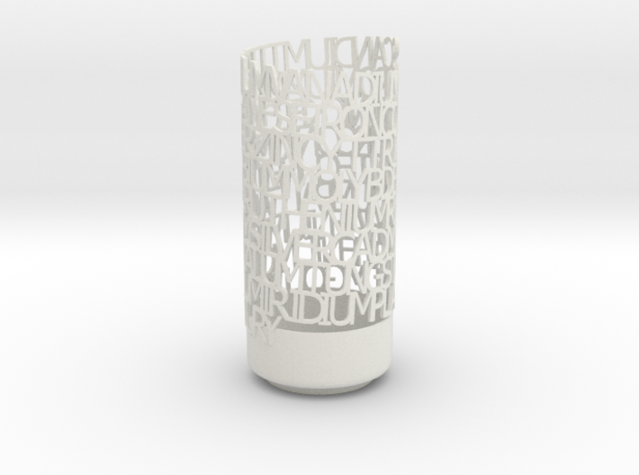 Transition Elements Vase 3d printed