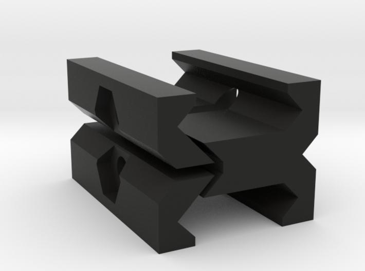 Picatinny to Picatinny Adapter 3d printed
